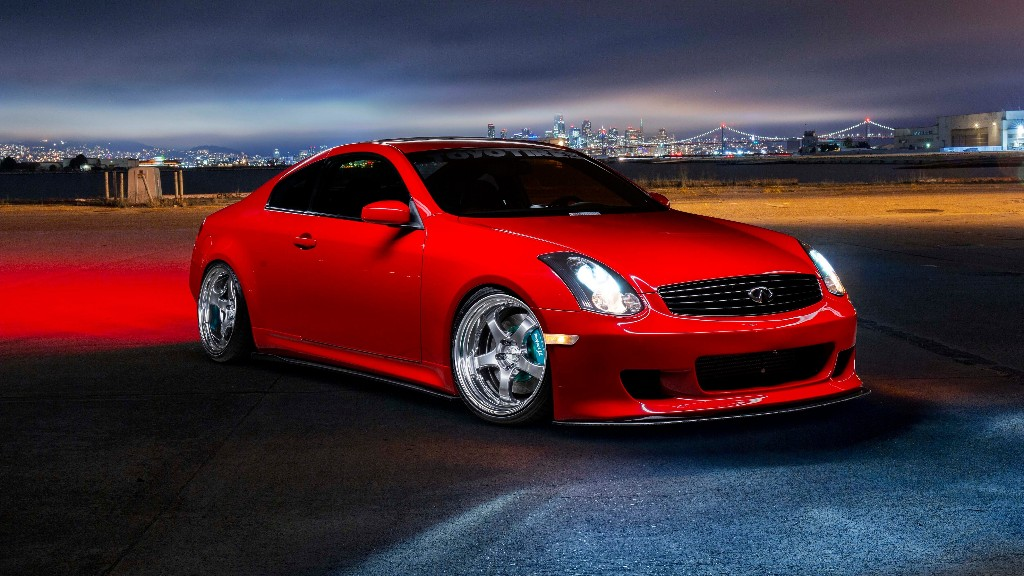 This 2003 Infiniti G35 Coupe Is Supercharged and Spotless