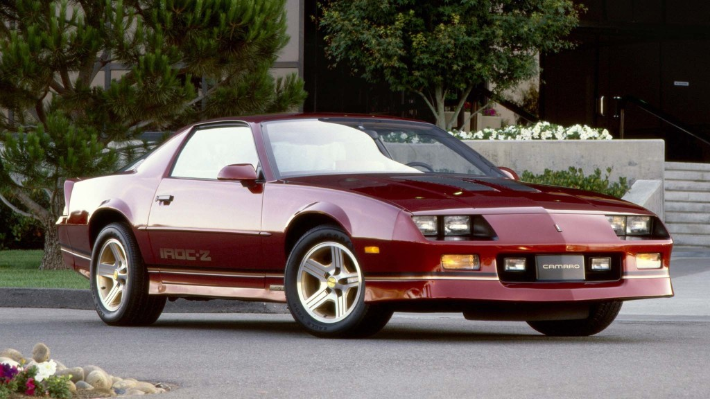 Why History Hates the 1980s Chevy Camaro IROC-Z