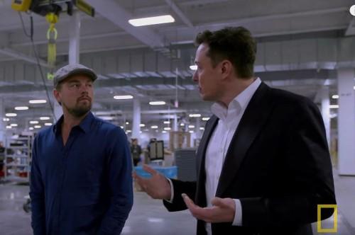 Elon Musk Takes Leonardo DiCaprio through Tesla Gigafactory (W/Video)