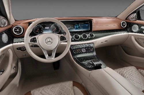 The 2017 Mercedes-Benz E-Class: Our Take on 12 New Interior Design Features