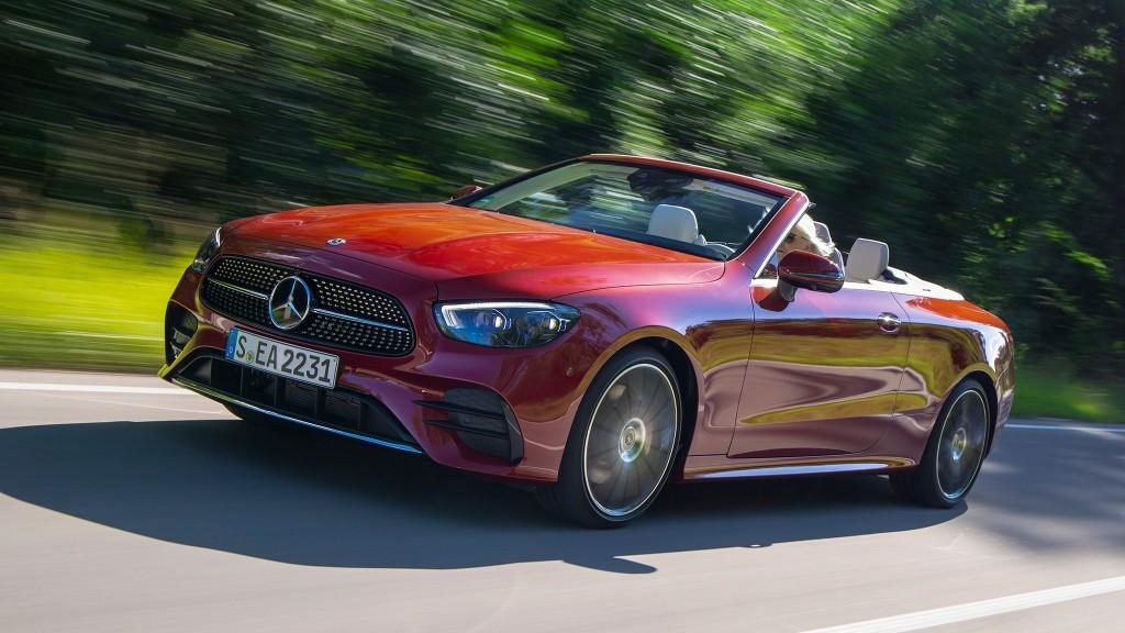 2021 Mercedes-Benz E 450 4Matic Cabriolet First Drive