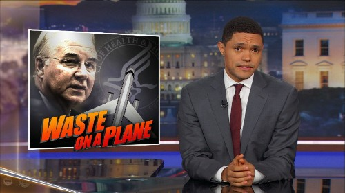 Why Trump Actually Demanded Tom Price's Resignation - The Daily Show with Trevor Noah (Video Clip) | Comedy Central