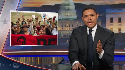 The Dakota Access Pipeline's Shady Reroute - The Daily Show with Trevor Noah (Video Clip) | Comedy Central