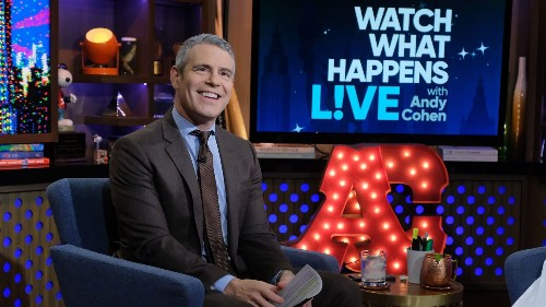 Andy Cohen Will Host His Show From Home, COVID-19 Be Damned