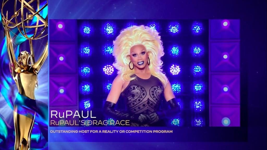 RuPaul Wins Outstanding Host Emmy, Dedicates Award to Chi Chi DeVayne