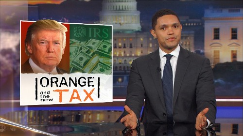 Trump Performs a Tax Miracle (Allegedly) - The Daily Show with Trevor Noah (Video Clip) | Comedy Central