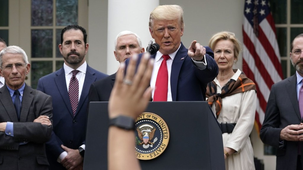 Yes, The Trump Administration Really Closed The White House Pandemic Office In 2018