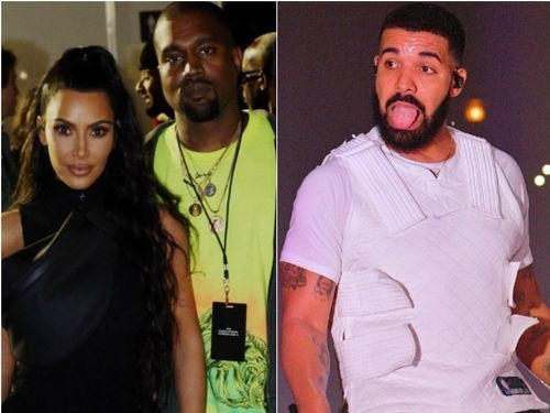 Kanye West Calls Out Drake In Defense Of Kim Kardashian: 'Don't Speak On My Family'