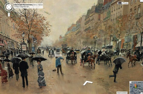 Classic Paintings Cleverly Translated into Google Street View