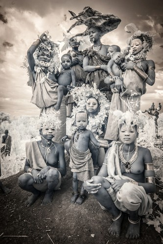 Interview: Stunning Infrared Portraits Document Indigenous Tribal Cultures of the World