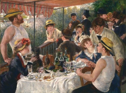 The Story Behind Renoir's Impressionist Masterpiece 'Luncheon of the Boating Party'