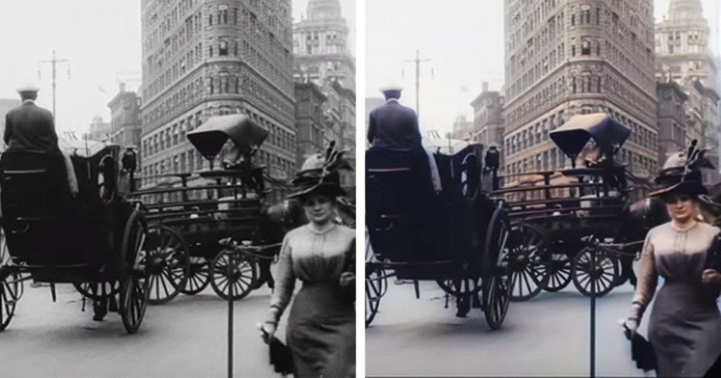 Artificial Intelligence Brings New Life to a 1911 Film About Life in New York City