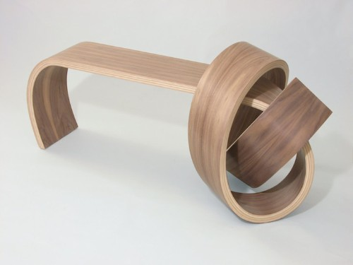 Stunning Wood Furniture Looks Like Its Tied in a Knot