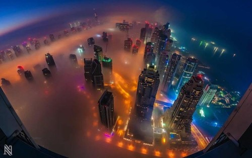 Amazing Cityscape Views from the Rooftops of Dubai