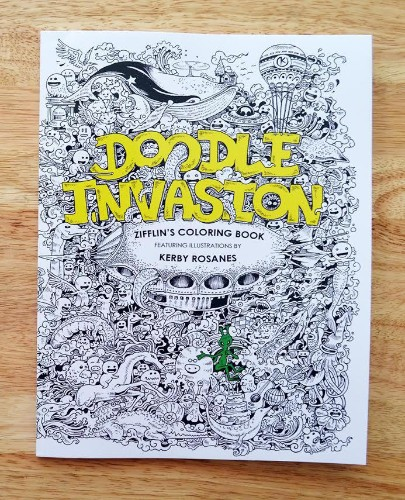 Doodle Invasion: The Highly Detailed Coloring Book That Adults Love
