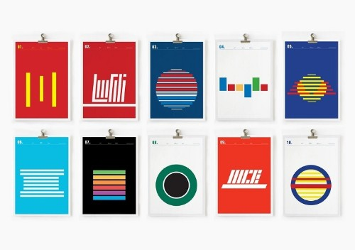 Popular Logos as Simple Lines Offer Fresh Outlook on Commercial Brands