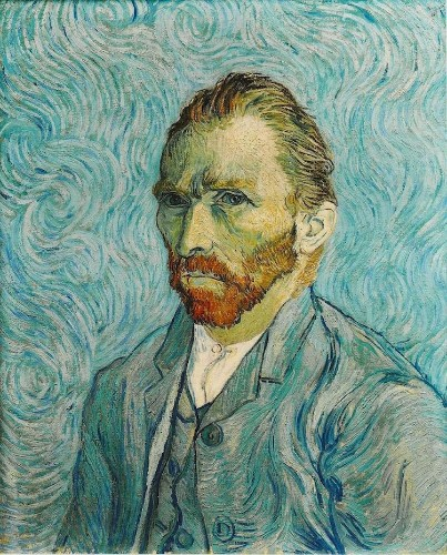 Wall Chart Shows Almost 900 of Vincent van Gogh Paintings Organized by Subject Matter