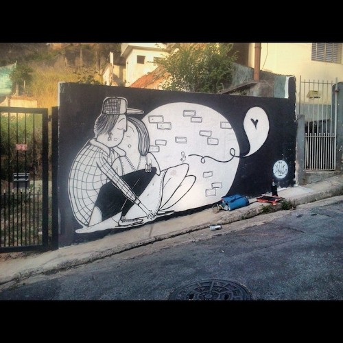 The Love-Filled Street Art of Alex Senna