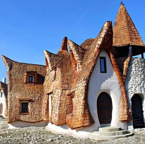 Couple Builds Fairy Tale Inspired Castle That's 100% Organic