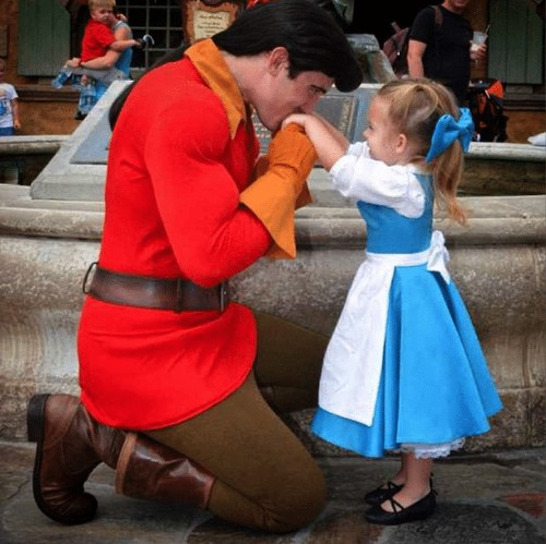 Mom Designs Adorable Costumes for 3-Year-Old Daughter to Wear Around Disney World