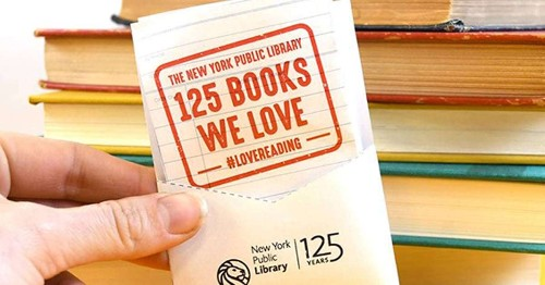 New York Public Library Releases List of 125 Favorite Books to Honor 125th Anniversary