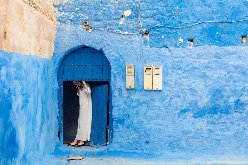 """The Stunning Beauty of Chefchaouen, a Moroccan Mountain Town Known as the """"Blue Pearl"""""""
