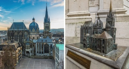 Mini Sculptures in Front of Monuments Help Visually Impaired People Explore Architecture