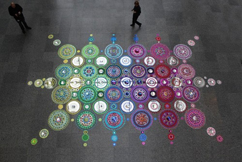 Symmetrical Patterns Arranged Into Dazzling Floor Designs