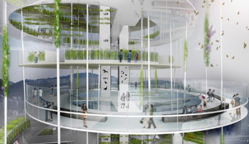 Revolutionary Space-Saving Vertical Farms in China