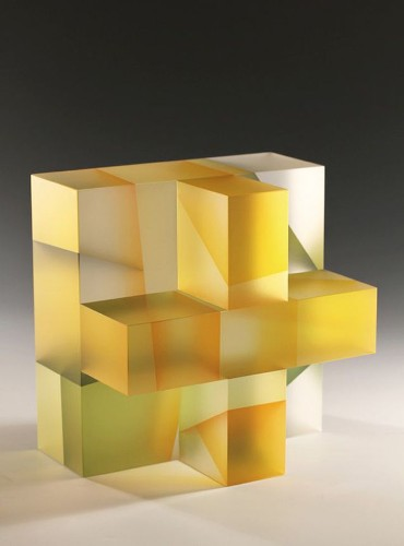 Translucent Glass Sculptures That Beautifully Fragment Color and Light