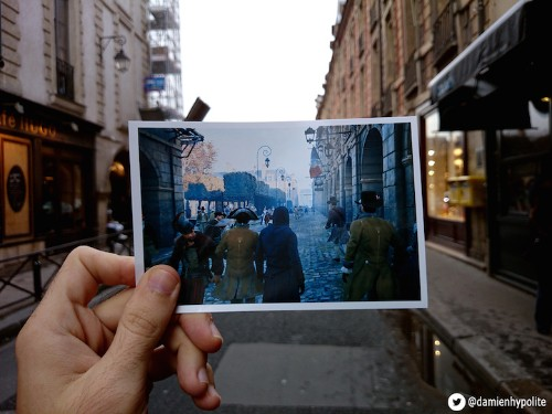 Video Game Screenshots Blend the French Revolution with Modern Day Paris