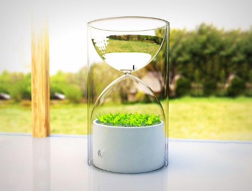 Pocket Sized Greenhouse Self-Sufficiently Purifies the Air