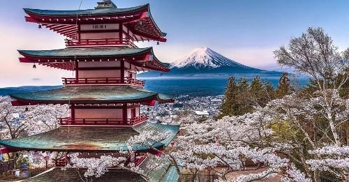 Incredible Photos of Japan's Natural Landscape That Look Like Watercolors