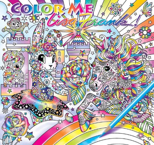 Lisa Frank Is Releasing a Coloring Book for Adults to Express Their Colorful Imagination
