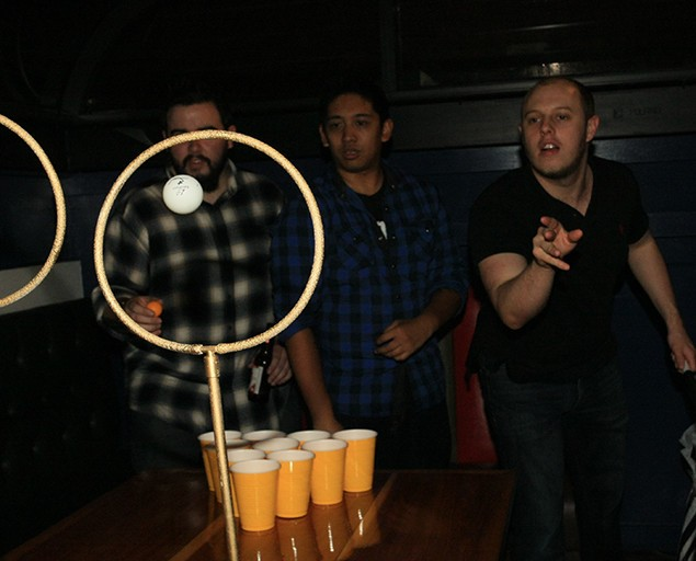 Quidditch Pong is a Harry Potter-Inspired Drinking Game