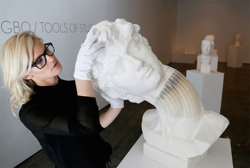 Astonishing Stretchable Paper Sculptures Appear to Be Made of Stone