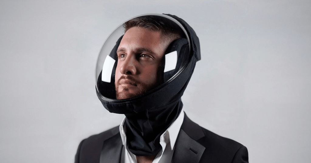 Designers Develop Ventilating Helmet to Filter Out COVID-19 While Traveling