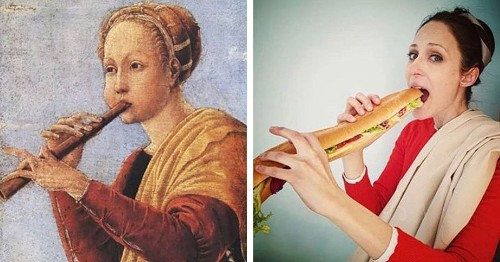 People Are Recreating Iconic Works of Art With Objects Found at Home During Self-Quarantine