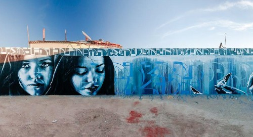 Abandoned Water Tank Transformed into Spectacular Graffiti Amphitheater