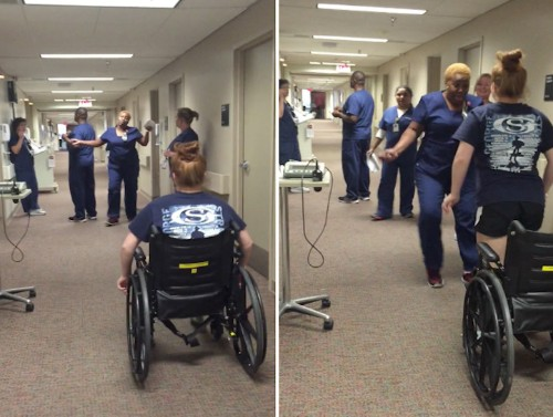 Remarkable Girl Surprises Favorite Nurse with Miraculous Paralysis Recovery