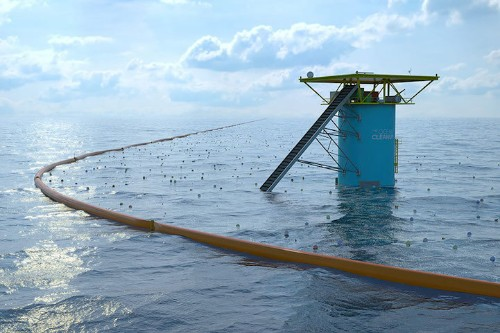 20-Year-Old Inventor Designs the World's First Ocean-Cleaning System
