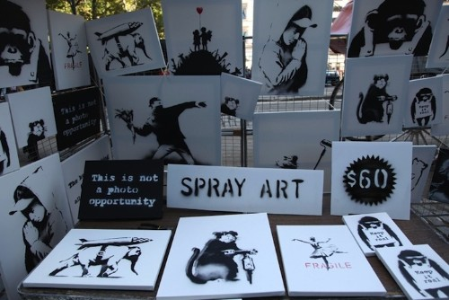 Banksy Secretly Sells Original Signed Art for $60 on Streets