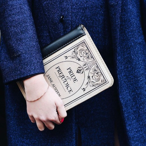 Illustrated Book Clutches Offer a Stylish Way to Celebrate Your Favorite Novel