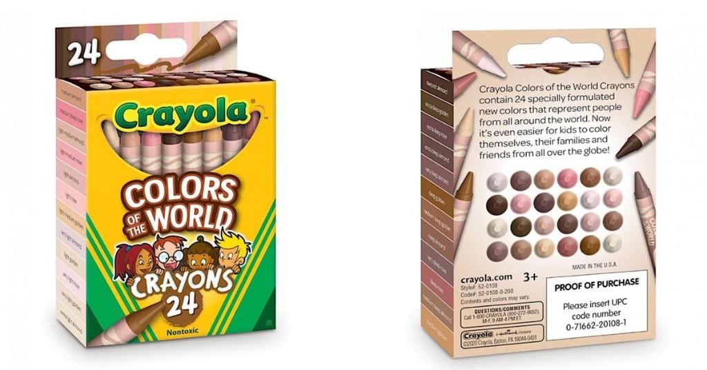 Crayola lanza set de crayones de 'dolores del mundo' para representar más de 30 tonos de piel