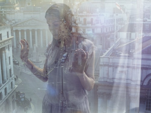 Hauntingly Beautiful Double Exposures by Julia Fullerton-Batten