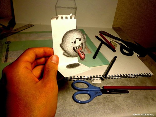 More Amazing 3D Illustrations That Pop Out at You by Nagai Hideyuki