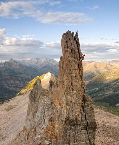 Extreme Climbing Photography