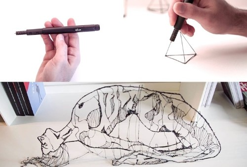 World's Smallest 3D-Printing Pen Lets You Doodle in the Air