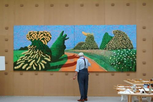Major Exhibition Explores Van Gogh's Influence on David Hockney