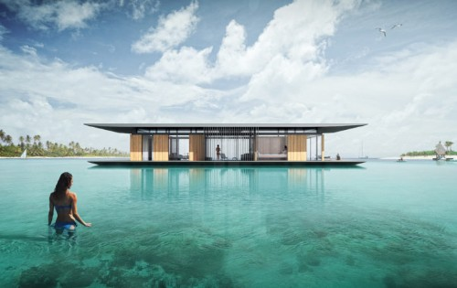 Modern Floating Home is the Perfect Tranquil Retreat